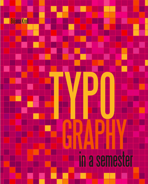 Typography in a Semester Book Cover